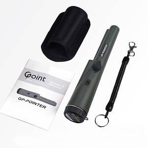 GP-Pointer, Пинпоинтер, Металлоискатель, Морковка  GP Pointer поинтер Целеуказатель пин +батар Крона, зелёный