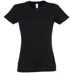 Футболка женская (чёрная)