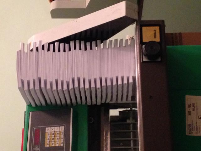 Чернобелая Ксерокопія документів, книг