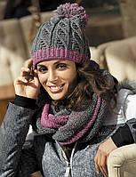 Красивый комплект шапка и снуд от Kamea - Catrina.