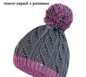 Гарна тепла ажурна шапка від Kamea - Catrina., фото 3