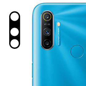 Гнучке захисне скло 0.18 mm на камеру (тех. пак) для Realme C3