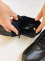 Жіночі черевики. На середній танкетці. Натуральна шкіра.Висока якість.Туреччина.Аlvito. Р. 37,38,39,41., фото 9