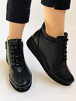 Жіночі черевики. На середній танкетці. Натуральна шкіра.Висока якість.Туреччина.Аlvito. Р. 37,38,39,41., фото 7