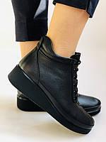 Жіночі черевики. На середній танкетці. Натуральна шкіра.Висока якість.Туреччина.Аlvito. Р. 37,38,39,41., фото 3
