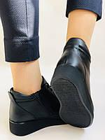 Жіночі черевики. На середній танкетці. Натуральна шкіра.Висока якість.Туреччина.Аlvito. Р. 37,38,39,41., фото 4