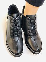 Жіночі черевики. На середній танкетці. Натуральна шкіра.Висока якість.Туреччина.Аlvito. Р. 37,38,39,41., фото 8