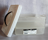Ланч бокс контейнер для еды на 3 секции, фото 2
