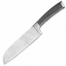 Нож Сантоку 17,5 см нержавеющая сталь Bergner Harley 4230-MM BG