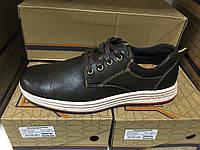 Кожаные мужские туфли спортивные, фото 1