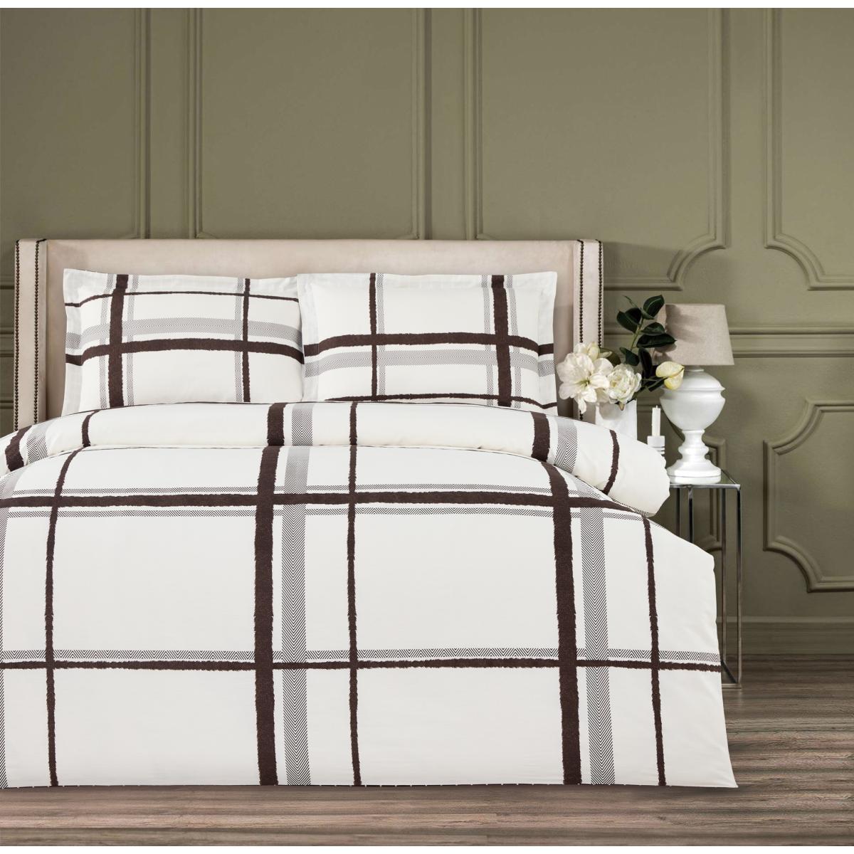 Комплект постельного белья Arya двуспальный Simple Living Afra 200х220 см. (A106993)