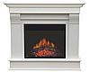 Каминокомплект ArtiFlame Albion AF 23 белый из шпонированного МДФ имитации пламени и обогрева, фото 3