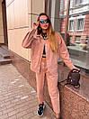 Женский костюм - двойка джинсы и свободная куртка 36ks1374, фото 5