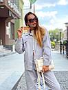 Женский костюм - двойка джинсы и свободная куртка 36ks1374, фото 6