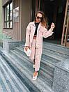 Женский костюм - двойка джинсы и свободная куртка 36ks1374, фото 7