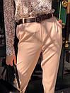 Женские брюки - бананы из костюмного крепа 68bu524, фото 5