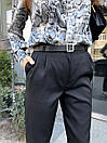 Женские брюки - бананы из костюмного крепа 68bu524, фото 6