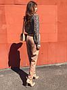 Женские брюки - бананы из костюмного крепа 68bu524, фото 7