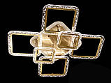 Стельова світлодіодна люстра з діммером 105W, фото 3