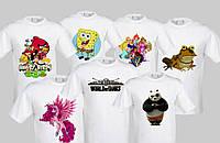 Печать на футболке цена Днепропетровск