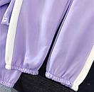 Женский спортивный костюм Securiplt с укороченным худи и штанами на манжетах р.единый 42-44 77spt1067, фото 5