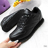 Черные спортивные кроссовки, фото 3