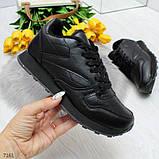 Черные спортивные кроссовки, фото 4