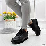Черные спортивные кроссовки, фото 7