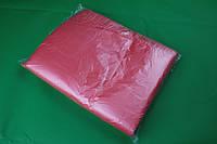 Пакеты-майка 10 мкм 2280+80х2*490 мм для пищевых продуктов красный 3000 шт мешок