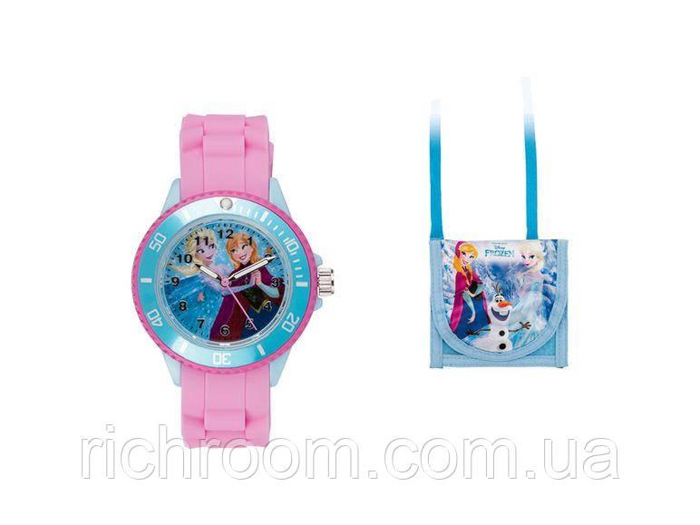 """Часы наручные для девочек с сумочкой """"Холодное сердце"""" AURIOL"""