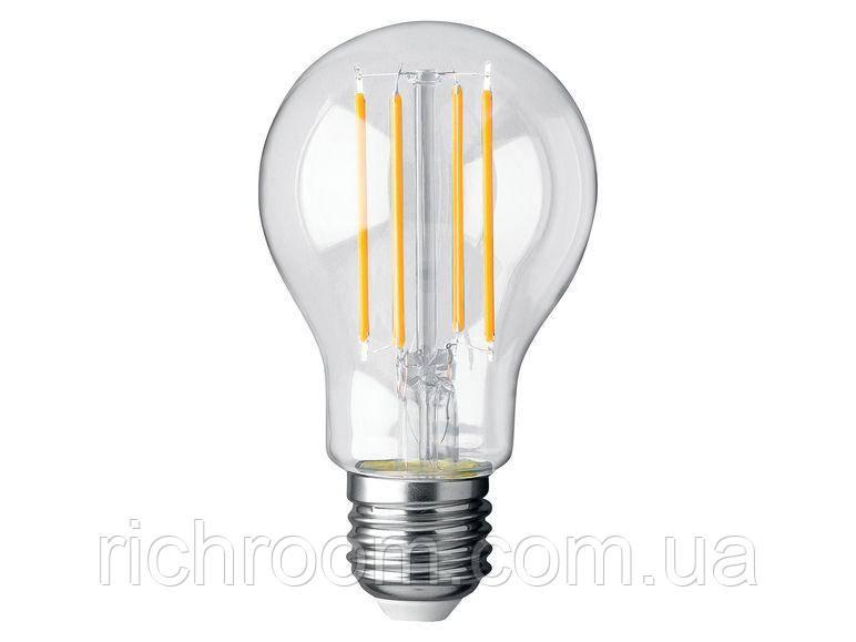Филаментная світлодіодна LED лампа Livarno Lux, 8 Вт, Е27, лампочка