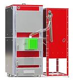 Котел пеллетный универсальный Smart MW 60 кВт + Пеллетная горелка Air Pellet Ceramic 60 кВт с Бункером 1м3, фото 9
