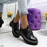 Туфли из натуральной кожи черного цвета, фото 2