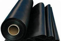 Плёнка полиэтиленовая чёрная 6м. ширина, (первичка) 80 мкм для мульчирования