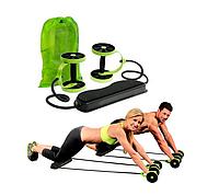 Многофункциональный тренажер для тела с 6-ю уровнями тренировки Revoflex Xtreme Зеленый