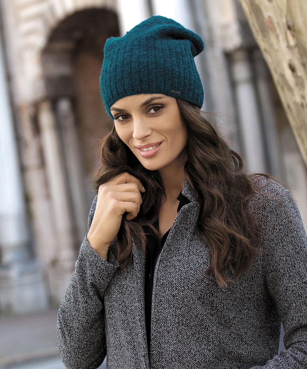 Красивая шерстяная шапка от Kamea - Briana.