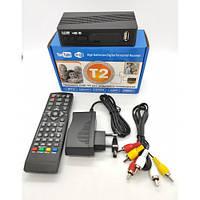 Цифровая телевизионная приставка Т2 Megogo эфирный тюнер DVB-Т2 ресивер DVB-T2, Wi-Fi, IPTV, USB