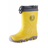 Желтые сапоги Slate размеры 30 весна;осень;зима;деми мальчик;девочка TM Reima 569315-2390