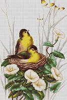 """Набор для вышивания крестом """"Luca-s"""" B2240 Птицы в гнезде"""