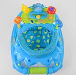 Детские ходунки голубые музыкальные JOY CP-12388, фото 2