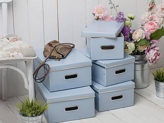 Ящики і полиці для зберігання речей та взуття