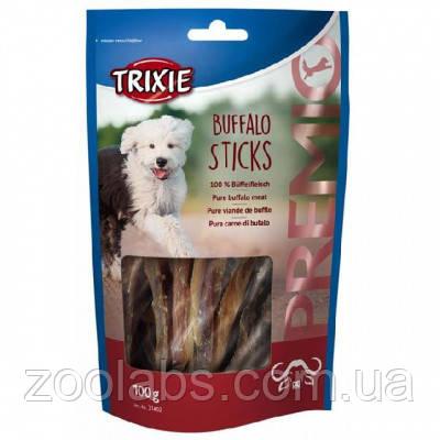 Лакомство Trixie для собак палочки с мясом буйвола | Trixie Premio Buffalo Sticks 100 грамм, фото 2