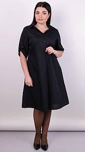Пальміра. Стильна сукня-сорочка plus size.