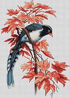 """Набор для вышивания крестом """"Luca-s"""" B293 Птичка"""