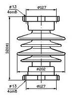 Изолятор С6-125-II УХЛ1