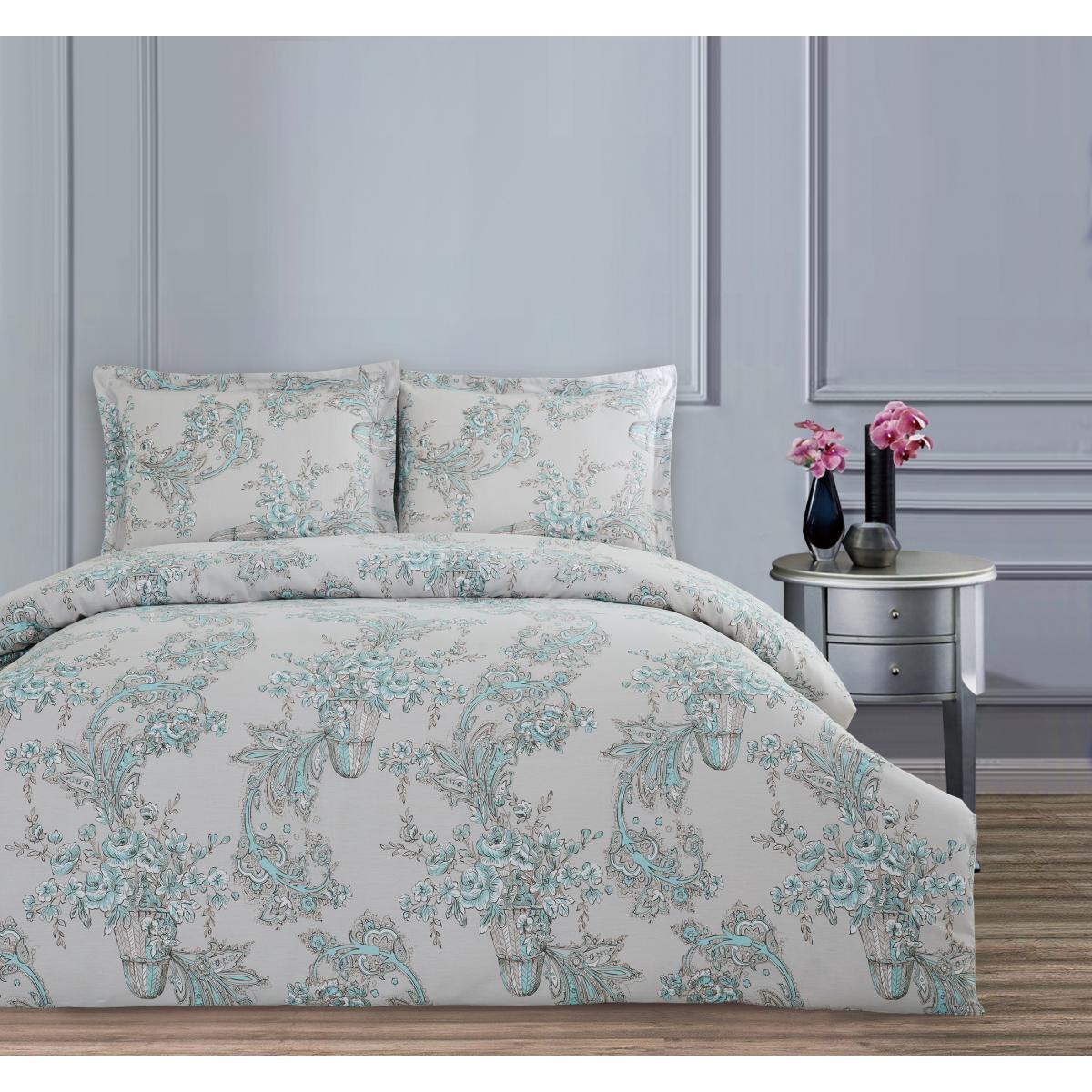 Комплект постельного белья Arya семейный Simple Living Meyra 160х220 см. (A107007)
