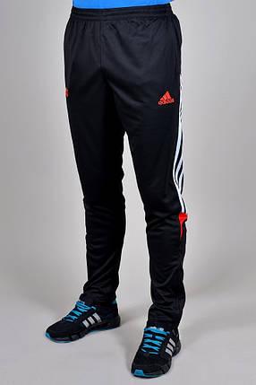 Брюки спортивные Adidas зауженные (929-2), фото 2
