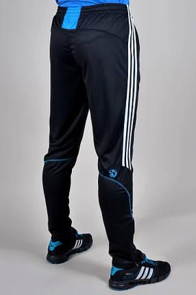 Брюки спортивные Adidas зауженные (927-1), фото 2