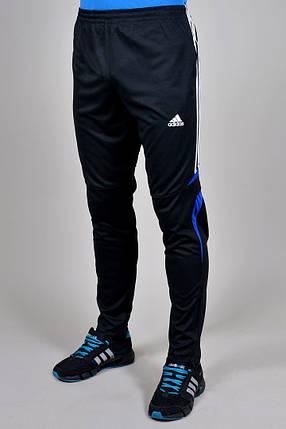Брюки спортивные Adidas зауженные (850-1), фото 2