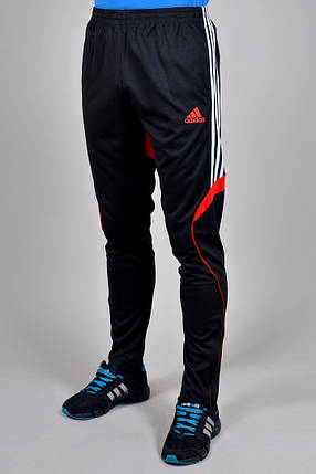 Брюки спортивные Adidas зауженные (925-2), фото 2